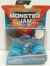 Megalodon (Nitro Neon) 2019 Spin Master Monster Jam 1:64 Scale Blue Neon Truck