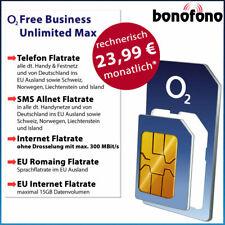 o2 Business Unlimited Max - 23,99 ?*mtl. Allnet Flatrate + unbegrenztes Internet