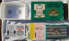 L@@K Nintendo Game Watch Green House Retro 1982  Great Condition