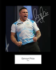 GERWYN PRICE #1 Signed 10x8 Mounted Photo Print - FREE DELIVERY