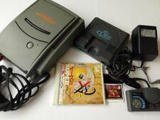 NEC PC Engine SUPER CD-ROM2 Unit System and Coregrafx Console set tested-E-