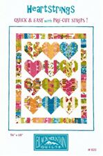 Hearts Heartstrings Quick & Easy Jelly Roll Strips Black Mt. Quilt Pattern