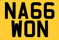 WINNING NAG?cherished number plate reg HORSE BOX RACEHORSE OWNER GAMBLER