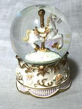 Romantique - Carousel Snow Globe (C)