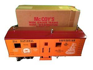McCoys 1975 Kitchen Car 21st National Convention Orlando FL