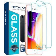 Tech Armor Glass Screen Protector for Apple iPhone 7 Plus / 6 Plus / 8 Plus -2Pk