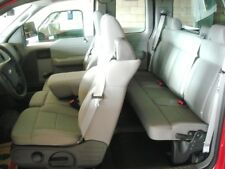 2004-2008 Ford F150 XLT Front & Back Premium Car Seat Covers in Gray Endura