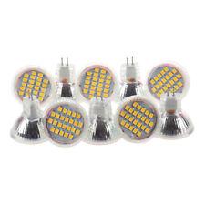 10pcs MR11 GU4 Warm White 3528 SMD 24 LED Home Spotlight Light Lamp Bulb 1W C8L7