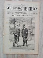 Journal illustré 1908  - Veillées des Chaumières - 11 Novembre - Petite José...