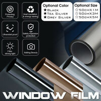 Privacy Window Glass Tint  Film Sticker Anti UV Solar Reflective For Home