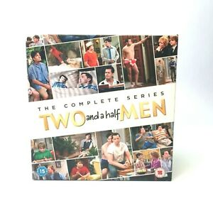 TWO AND A HALF MEN COMPLETE SERIES 1-12 DVD BOXSET 39 DISC R2 VGC Free Post