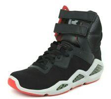 Reebok Womens Shoes CL Chi-Kaze-W Basketball Retro Leather Black Red J89218