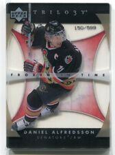 2005-06 Upper Deck Trilogy 146 Daniel Alfredsson FIT /599 Frozen In Time