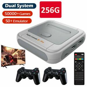 Super Console-X Pro 4K HDMI WiFi Retro HD TV Video Game Console with 256 GB SD