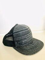 Adidas Baseball Flynit Grey Black Trucker Mesh Adjustable Snap Back Cap Hat