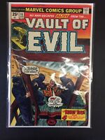 Vault Of Evil #18 The Deadly Edge Marvel Comics Combine Shipping