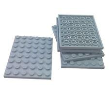 5x LEGO® 6x8 Platten neu-hellgrau 3036 light bluish gray plates