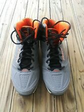 💖AND1 Sintetico Men's Overdrive Casual Basketball Shoes Grey & Orange Size 12💖