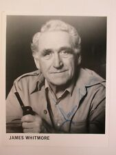 """James Whitmore Autographed 8x10"""" Signed Photo Movie Actor (Shawshank Redemption)"""