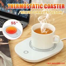 USB Cup Mug Warmer Coffee Tea Milk Drink Heater Pad 16W 55℃ Thermostatic Cup Mat