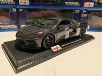 Maisto Special Edition 1:18 Scale Die-Cast Chevrolet 2020 C8 Corvette Stingray