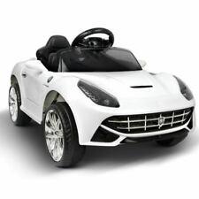 Rigo RCAR-F12-WH Ferrari Kids Ride On Car - White