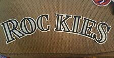 VINTAGE COLORADO ROCKIES  16 1/2 INCH HOME ROCKIE JERSEY PATCH .NOS