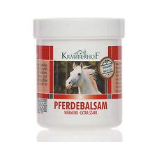 Kräuterhof Pferdebalsam Gel Extra Strong Warming Stimulates Blood Flow 250 ml