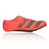 adidas Mens adizero Finesse Running Spikes Traction Orange Sports Breathable