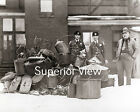 Michigan State Police Munising Post Prohibition Raid Big Pile of Stills 1920 WOW
