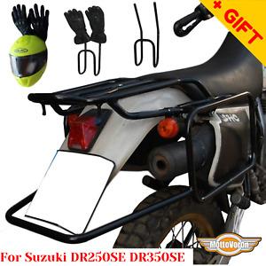 For Suzuki DR250SE luggage rack system DR350SE side carrier for cases Bag, Bonus