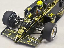1/18 Ayrton Senna 1985 Lotus Renault 97T with FULL LIVERY