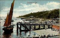 Southend-on-Sea England Essex AK 1910 Harbor Hafen Port Segelschiff Sailing Ship