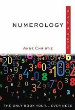 Numerology, Plain & Simple: The Only Book You'll Ever Need, Christie, Anne, Very