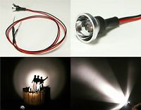 S082- 2 Stück LED Flutlichtstrahler Fassadenstrahler Scheinwerfer warmweiß 6-12V