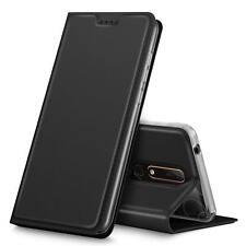 Handy Hülle Nokia 6 2018 Book Case Schutzhülle Tasche Slim Flip Cover