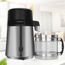 4L Water Distiller Electric Purifier Stainless Steel Glass Water Filters UK