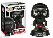Figura vinile Kylo Ren Star Wars VII Pop Funko bobble-head Vinyl figure n° 60