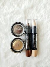NEW SEALED LOT OF 4 MAYBELLINE COLOR TATTOO 2 EYE CRAYON AND 2 EYESHADOW