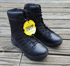 "Original Swat Boots Metro Air 9"" Side Zip NIB Size 9.5"