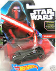 Kylo Ren Star Wars the force awakens Hot Wheels diecast Toy Car Aunthentic
