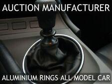 Toyota Supra MKIV JZA80 93-02 Chrome Ring Aluminum Surround For Manual Shifter