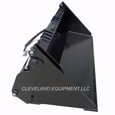 "60"" HD 6-IN-1 COMBINATION BUCKET Skid Steer Loader Attachment Gehl Terex 4-IN-1"