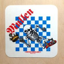 Powell Peralta Rodney Mullen sticker skeleton Vision Primo Bones Brigade skate