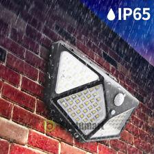 5000LM 100 LED Solar Light Motion Sensor Waterproof Outdoor Garden Wall Lamp New