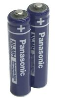 2 Genuine Original Panasonic BK-30AAABU Replacement Batteries for Cordless Phone