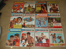 VINTAGE FULL SET of 12 1965 Boxing Illustrated Wrestling News Magazines FOY MINT