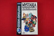 Mystaria: The Realms of Lore | Sega Saturn - PAL
