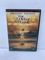 For Love of the Game (DVD 1999) Kevin Costner, Jelly Preston, John C Reilly