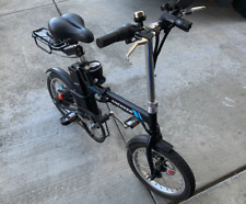 ANCHEER Folding Electric Commuter Bike, 16'' City Ebike with 8Ah Removable Lithi